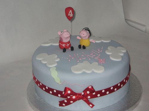 Foto della torta di Peppa Pig n.69