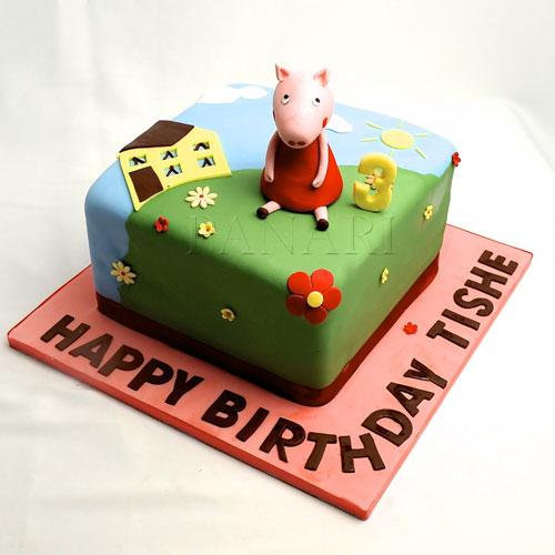 Foto della torta di Peppa Pig n.70