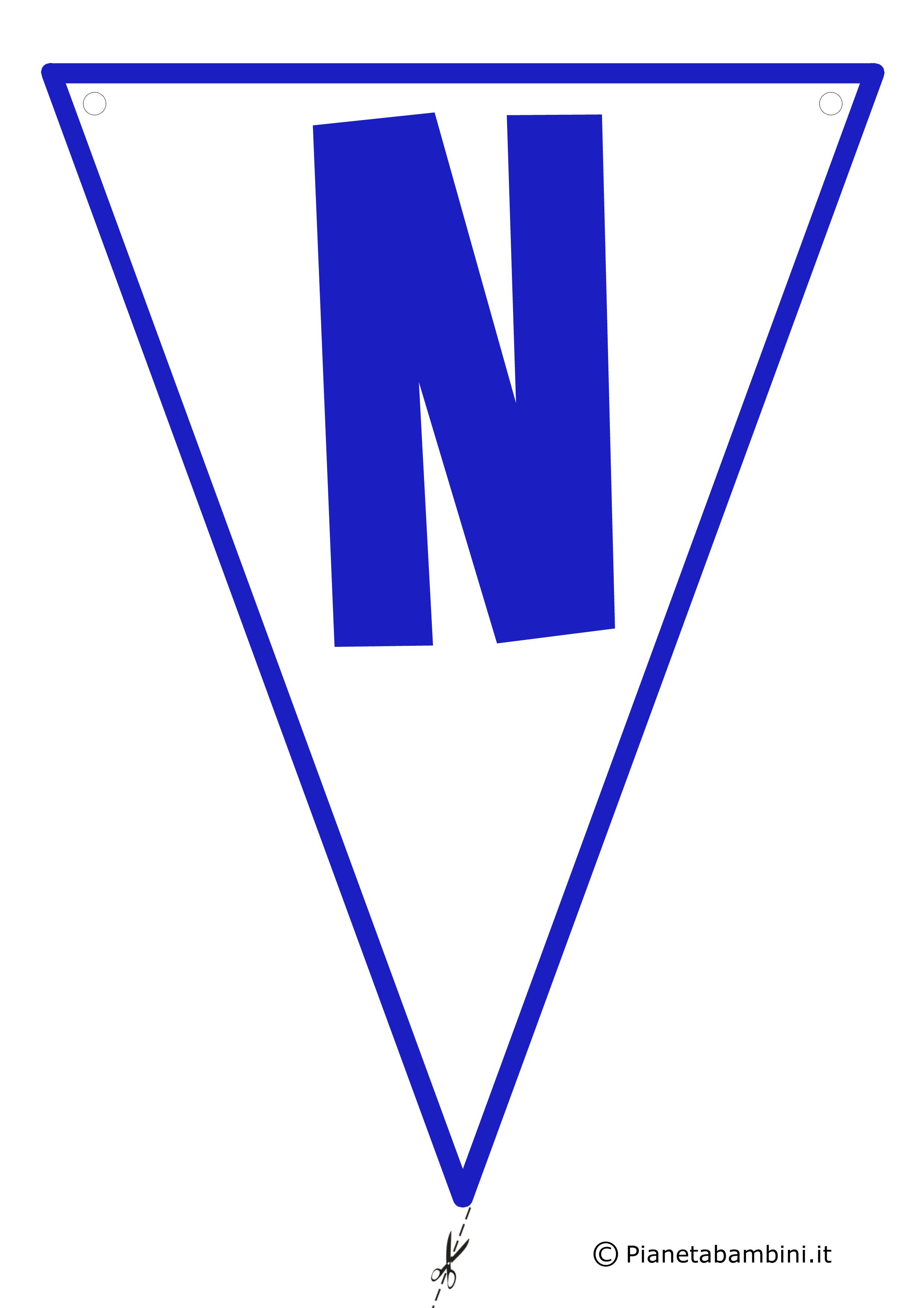 Bandierina-N-Blu