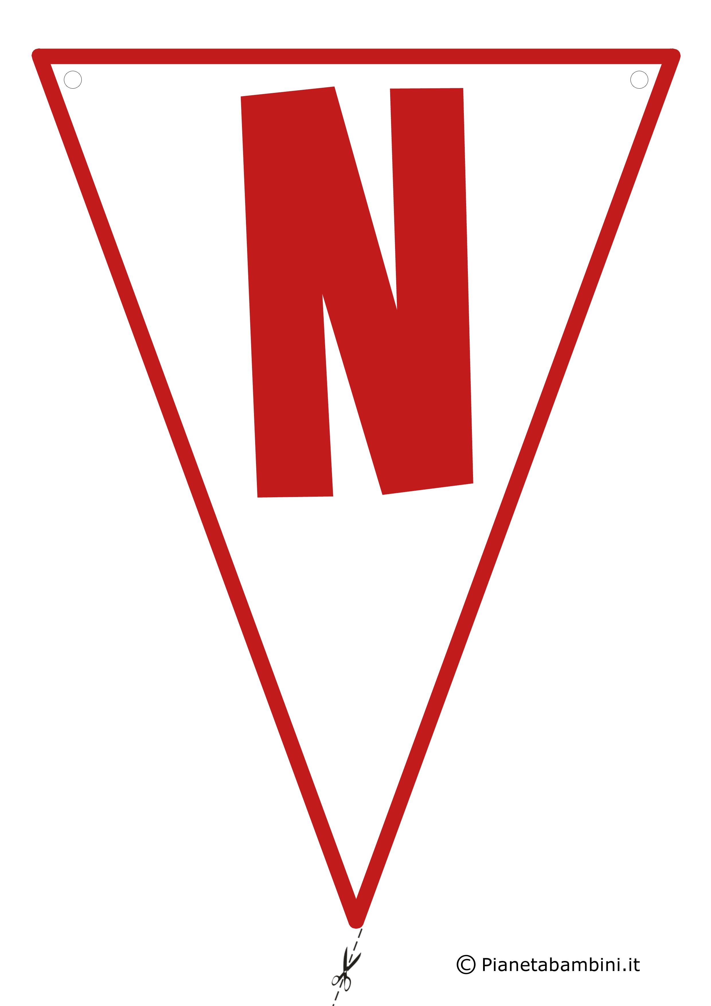 Bandierina-N-Rossa