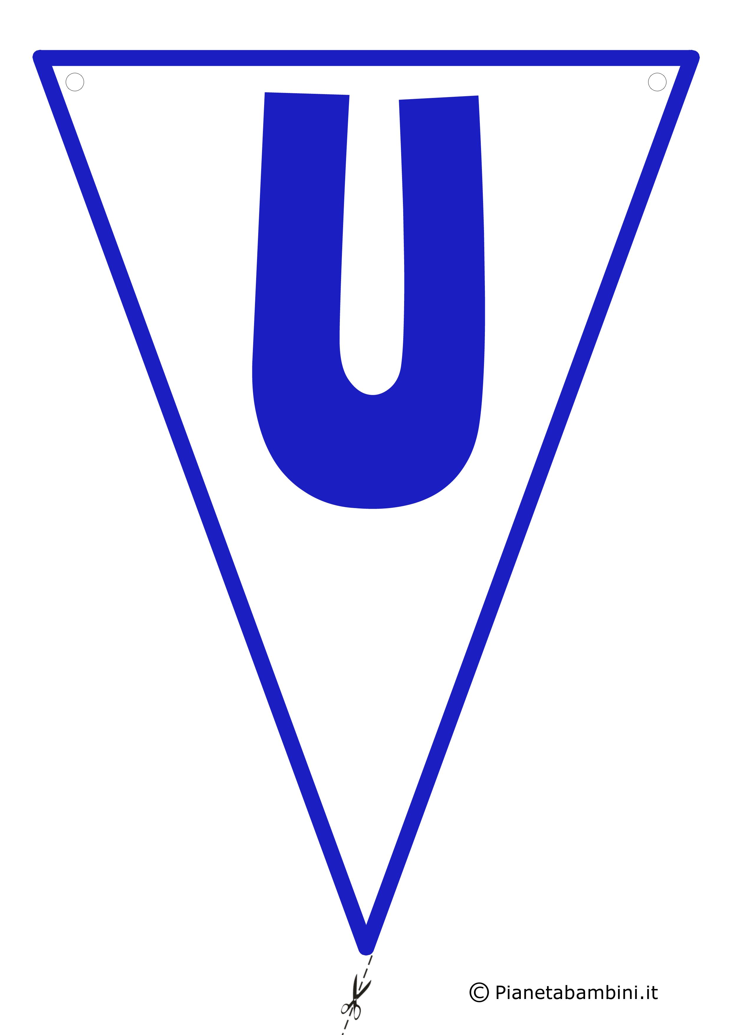 Bandierina-U-Blu