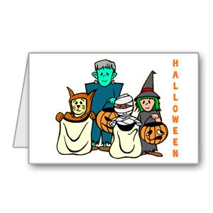 Immagine biglietto per Halloween n 1