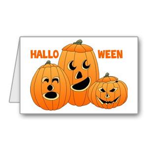 Immagine del biglietto di Halloween n 2