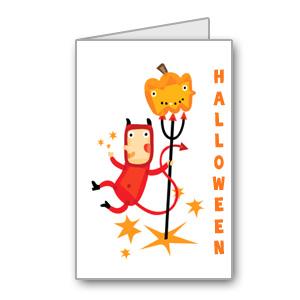 Immagini del biglietti di Halloween n 4