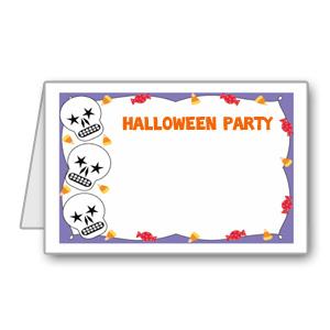 Immagine del biglietto di Halloween n 5
