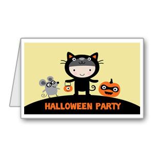 Immagine del biglietto di Halloween n 8