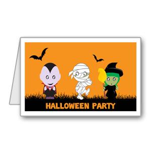 Immagine del biglietto di Halloween n 10