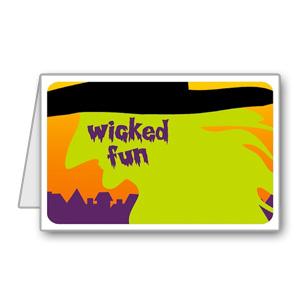 Immagine del biglietto di Halloween n 13
