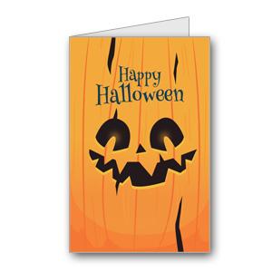 Biglietto di Halloween da stampare n.18