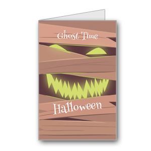 Biglietto di Halloween da stampare n.19
