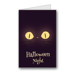Biglietto di Halloween da stampare n.21
