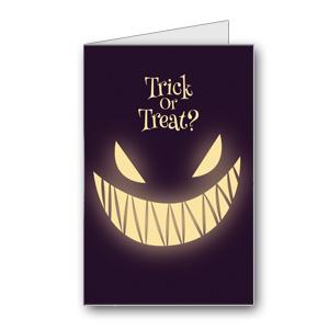 Biglietto di Halloween da stampare n.23