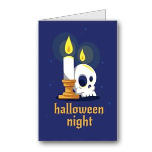 Biglietto di Halloween da stampare n.24
