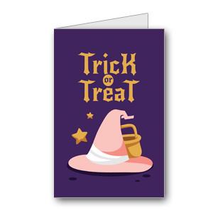 Biglietto di Halloween da stampare n.26