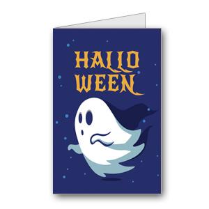 Biglietto di Halloween da stampare n.27