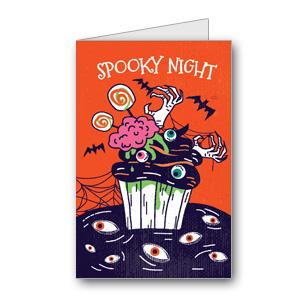 Biglietto di Halloween da stampare n.28