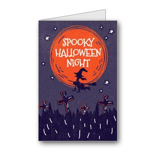 Biglietto di Halloween da stampare n.29