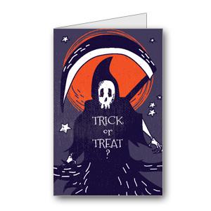 Biglietto di Halloween da stampare n.31