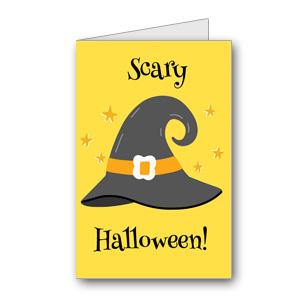 Biglietto di Halloween da stampare n.32
