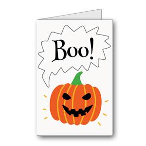 Biglietto di Halloween da stampare n.33