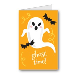 Biglietto di Halloween da stampare n.35