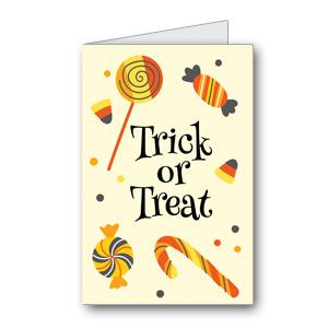Biglietto di Halloween da stampare n.36