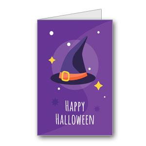 Biglietto di Halloween da stampare n.37