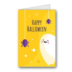 Biglietto di Halloween da stampare n.38