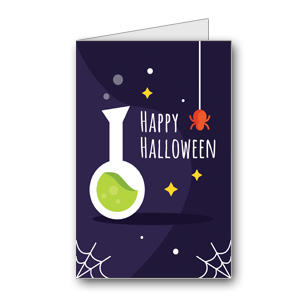 Biglietto di Halloween da stampare n.39