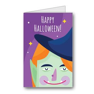 Biglietto di Halloween da stampare n.40