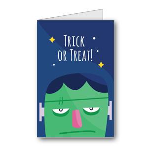 Biglietto di Halloween da stampare n.41