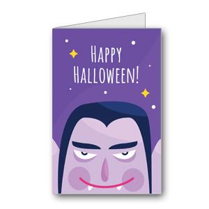 Biglietto di Halloween da stampare n.42