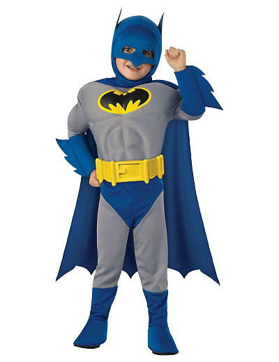 Foto del costume di Batman