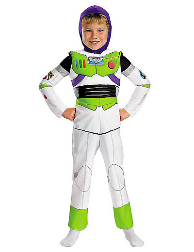 Foto del costume di Buzz Lightyear di Toy Story