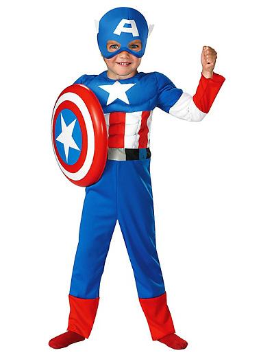 Foto del costume di Captain America