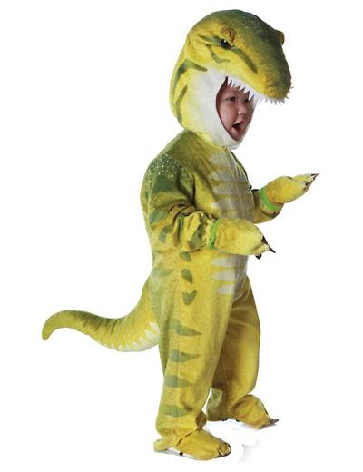 Foto del costume da dinosauro