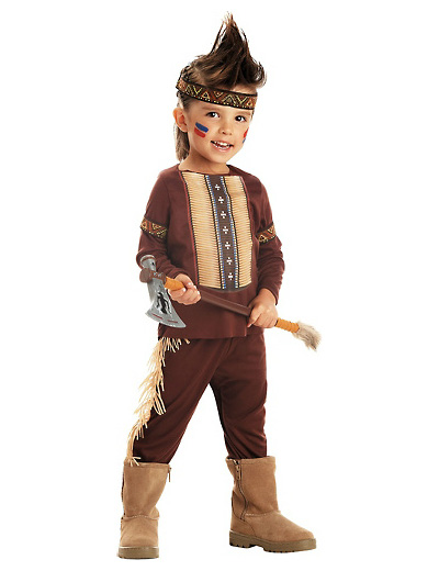 Foto del costume da indiano