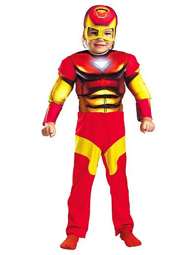 Foto del costume di Iron Man
