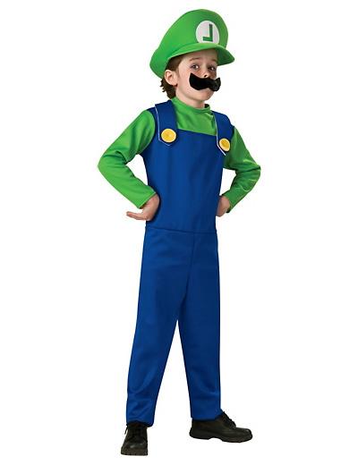 Foto del costume di Luigi di Super Mario