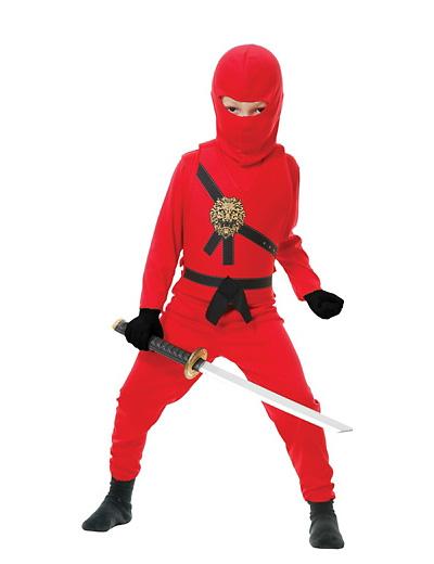 Foto del costume da ninja