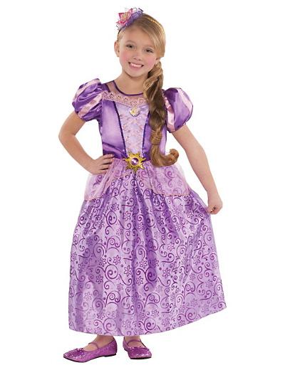 Foto del costume di Rapunzel