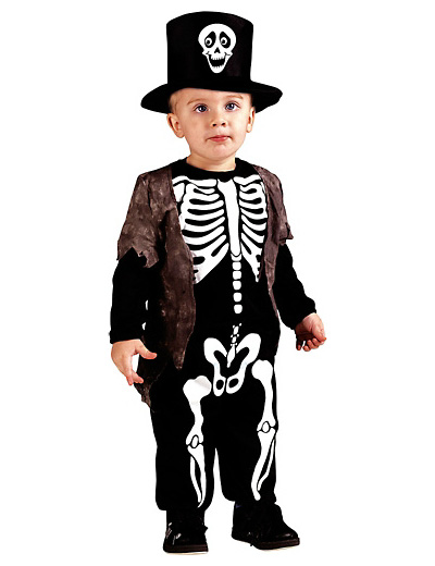 Foto del costume da scheletro