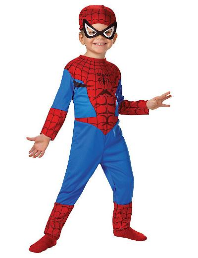 Foto del costume di Spider Man