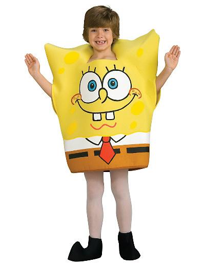 Foto del costume di Spongebob