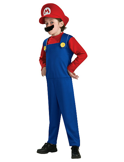 Foto del costume di Super Mario