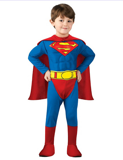 Foto del costume di Superman