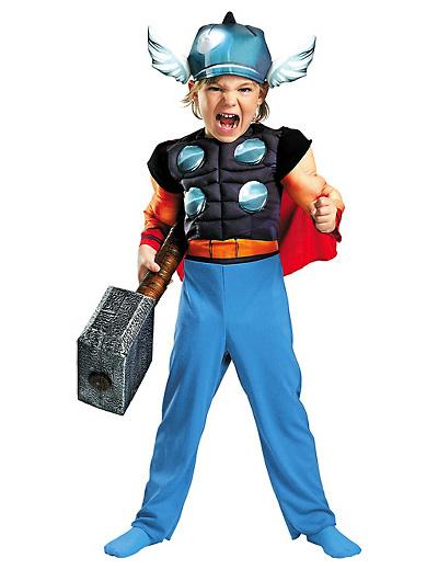 Foto del costume di Thor