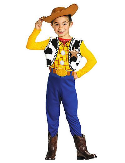 Foto del costume di Woody di Toy Story