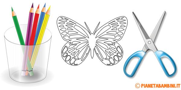 Sagome di farfalle da stampare