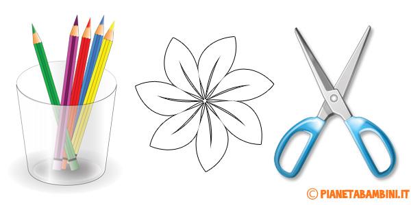 Sagome di fiori da stampare